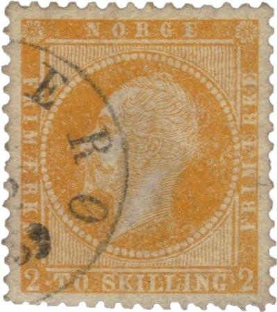 3199) NK 2 - 2 skilling Oscar I 1857 - Sandve - Norwegian classic stamp NK 2. 2 skilling King Oscar I 1857. [ ] [ ] Series: 1856/57 King Oscar I. Face value: 2 skilling. NK: 2. Facit: NO 2. AFA: NO 2. Yvert et Tellier: NO 2. Michel: NO 2. Scott: -. Type: Used, O. Canc: ?. [ ] [ ] Condition: Th - Sandve