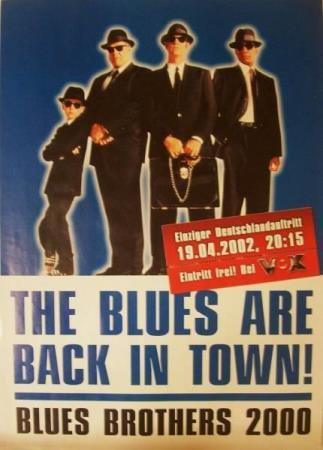 BLUES BROTHERS 2000 - The Blues Are Back In Town (Poster)