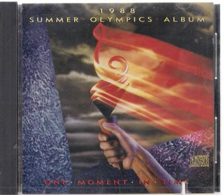 1988 Summer Olympics Album - One Moment In Time CD Bee Gees
