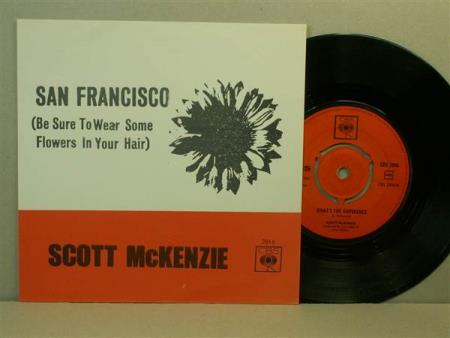 Scott McKenzie:  San Francisco / Whats The Difference