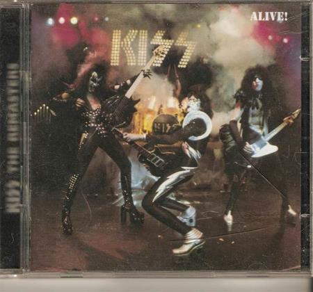 Kiss - Alive! - 2CD The Remasters Kizz