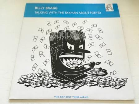 Billy Bragg ‎– Talking With The Taxman About Poetry (LP)