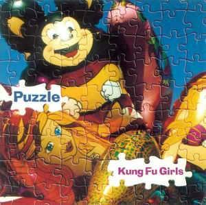 Kung Fu Girls - Puzzle - CD - Oslo - Kung Fu Girls - Puzzle - SRS 010 ‎– Straitjacket Records - Norge - 1995 Låter 01. Puzzle 02. Last Time 03. Sir Gawain Has A Serious Drinking Problem 04. Missed It Again 05. Sleeping Beauty 06. Something New 07. Secret World 08. Spidermans Love - Oslo