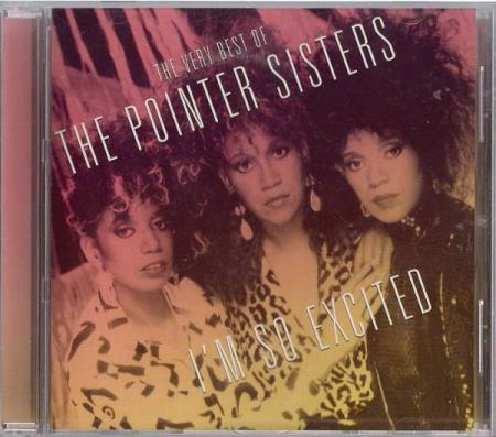 The Very Best Of The Pointer Sisters - Im So Excited CD 2003