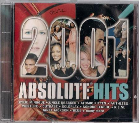 Absolute Hits 2001 CD Absolute Music