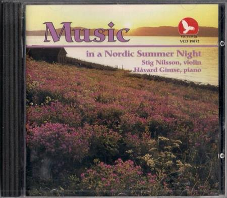 Music In A Nordic Summer Night CD 1992 Stig Nilsson