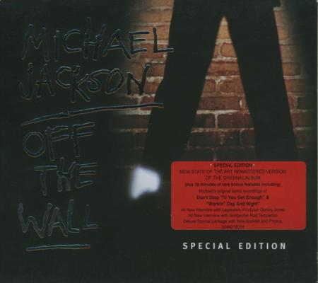 Michael Jackson - Off The Wall - Special Edition CD