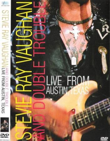 STEVIE RAY VAUGHAN AND DOUBLE TROUBLE.-LIVE AUSTIN TEXAS.