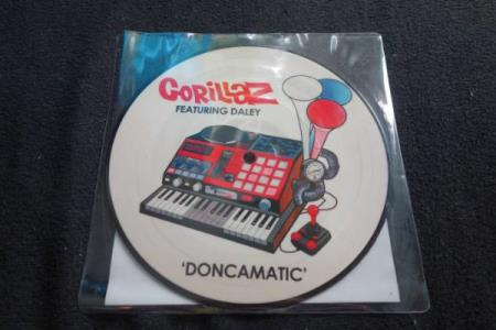 Gorillaz Featuring Daley – Doncamatic [7 Pic-Disc Vinyl]