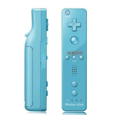 Wii MotionPlus 2-in-1 KONTROLL MED SILIKONCOVER