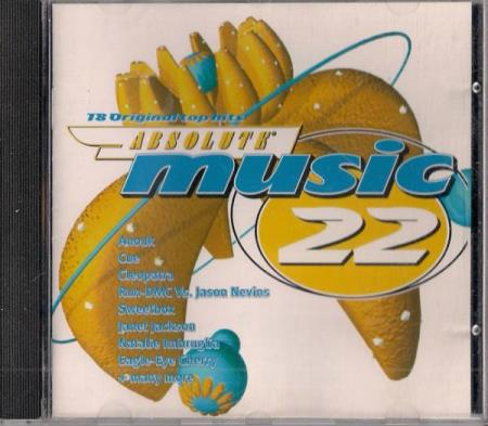 Absolute Music 22 CD 1998 Anouk Janet Jackson Bel Canto