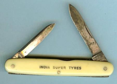 India Super Tyres - Cutlers To His Majesty - flott lommekniv