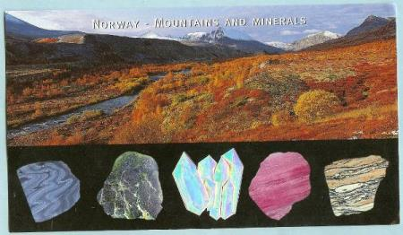 Norway - Mountains and Minerals - Snorre SD141 - Dørådalen