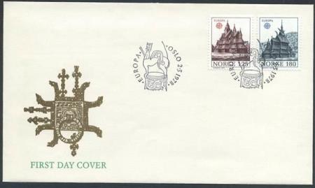 Norge FDC: 0817-18. Europa XII, 1978 (Off.). Uadressert