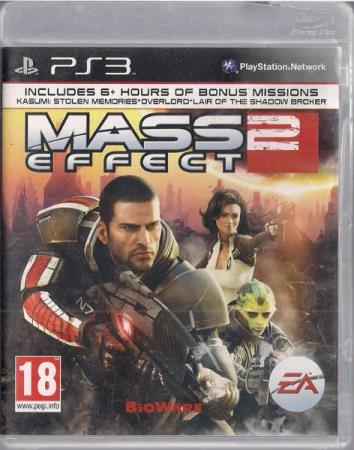 Mass Effect 2 PS3 Playstation 3