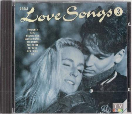 Great Love Songs 3 CD 1990 Foreigner Michael Bolton George