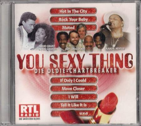 You Sexy Thing CD David Grant Hot Chocolate Aaron Neville
