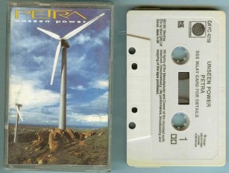 Petra - Unseen Power - DAYC 4218 Dayspring Word Inc. 1991