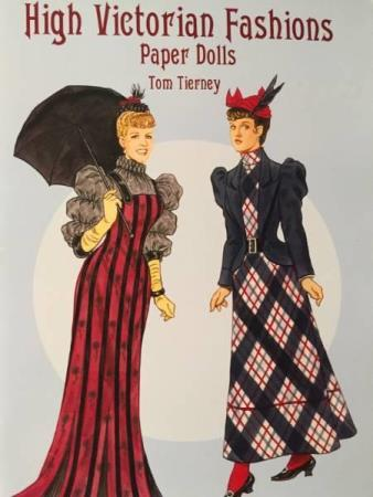 High Victorian Fashions Paper Dolls Paperback.