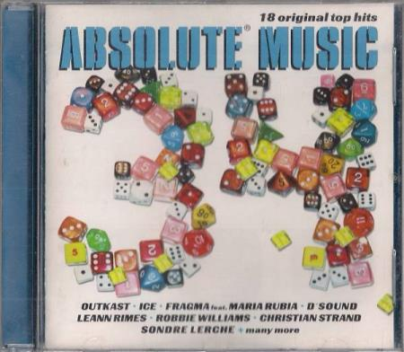 Absolute Music 34 CD 2001 Outkast Fragma Ice Dsound