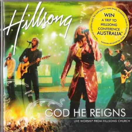 HILLSONG.-GOD HE REIGNS.-2 CD.