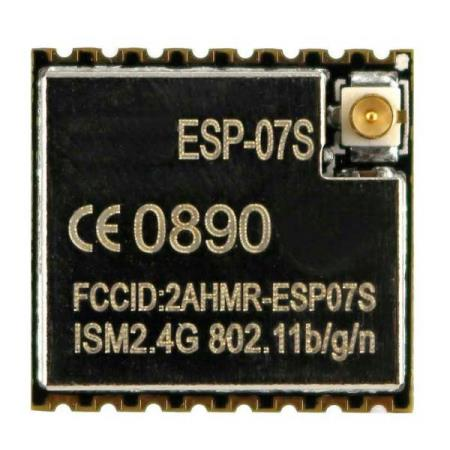 ESP-07S Wi-Fi MODULE - Oslo - ESP-07S Wi-Fi MODULE TIL ARDUINO KUN KR. 79.- This is WiFi serial transceiver module, based on ESP8266 SoC which has integrated TCP/IP protocol stack. It optimizes the filter circuit and reduces power consumption.It is an upgraded and improved vers - Oslo
