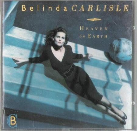 BELINDA CARLISLE.-HEAVEN ON EARTH.-1987. - Notodden - FIN.  - Notodden