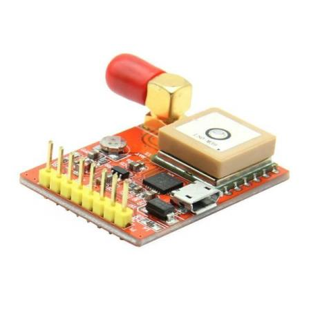 L80-39 USB-PORT-GPS MODULE FOR RASPBERRY Pi 1A+/1B+/2B/3B - Oslo - L80-39 USB-PORT-GPS MODULE FOR RASPBERRY Pi 1A+/1B+/2B/3B KUN KR. 399.- Features: - 165 dBm sensitivity, 1Hz (the default), the highest 5Hz update rate data channel 66 - Very low current consumption: 20ma - PPS output - Reserve SMA antenna interfac - Oslo