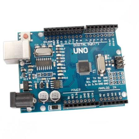 ARDUINO UNO R3 ATmega328P DEVELOPMENT BOARD - Oslo - ARDUINO UNO R3 ATmega328P DEVELOPMENT BOARD KUN KR. 99.- Digital I / O: 0 to 13. Analog I / O: 0 to 5. Support ISP download function. Output voltage: 5V DC voltage output and 3.3V DC voltage output.  - Oslo