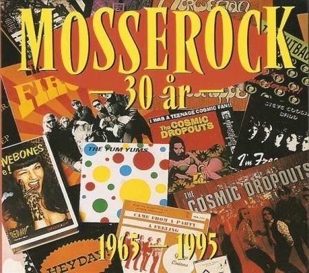 Mosserock 30 År 1965-1995 Norwegian Wood Cosmic Dropouts - Oslo - Diverse Artister - Mosserock 30 År 1965-1995 - 001 - Blinkskiver - Norge - 1995 CD1: 01. Came From A Party / The Green Onions 02. House In The Country / The Horrids 03. Shoot Me Angel / Society Defects 04. Go Joe! / Bente Lind & The Lunicks 05. It - Oslo