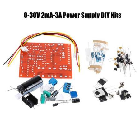 0-30V 2mA-3A REGULATED POWER SUPPLY DIY KIT – FOR ALLE MCU - Oslo - 0-30V 2mA-3A REGULATED POWER SUPPLY DIY KIT PASSER SÅ OG SI ALLE TYPER MCU SOM BL.A: ARDUINO, BANANA Pi, RASPBERRY Pi, 8051, ARM, AVR, PIC KUN KR. 129.- Features: High quality DC regulated power supply whose output voltage is continuously adjustab - Oslo