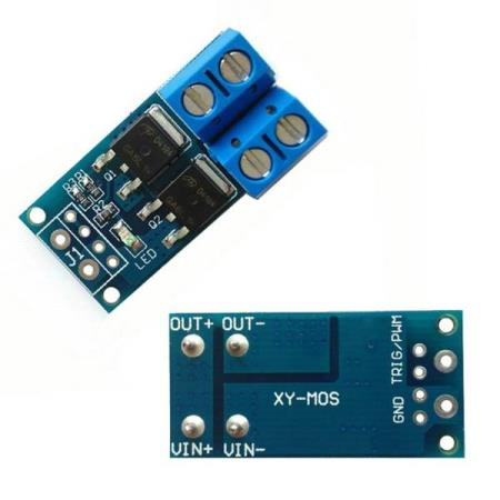 DUAL MOS DRIVER PWM CONTROL 400W 15A – FOR ALLE TYPER MCU - Oslo - DUAL MOS DRIVER PWM CONTROL 400W 15A PASSER SÅ OG SI ALLE TYPER MCU SOM BL.A: ARDUINO, BANANA Pi, RASPBERRY Pi, 8051, ARM, AVR, PIC KUN KR. 35.- Features: Brand new and high quality. The use of imported dual-MOS parallel active output, lower resis - Oslo