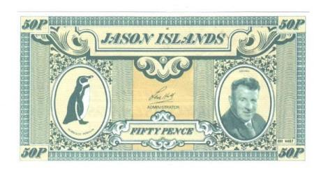 Jason Islands 50 pence ND (1979)