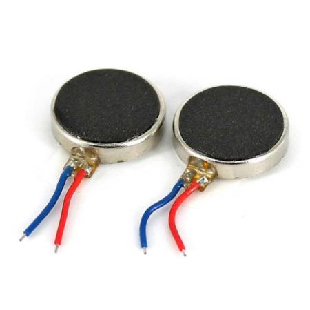 2 x VIBRATION MOTOR FOR ARDUINO - Oslo - 2 x VIBRATION MOTOR FOR ARDUINO KUN KR. 35.- This is a mini vibration motor suitable as a non-audible indicator. When you supply power for it, the motor will vibrate just like your cell phone on silent mode. Features: - Rated Voltage: 5.0V DC - Wor - Oslo