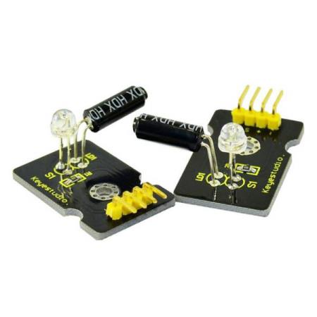 2 x MAGICAL LIGHT MODULE FOR ARDUINO - Oslo - 2 x MAGICAL LIGHT MODULE FOR ARDUINO KUN KR. 49.- Magic light cup module is a module able to be interactive with ARDUINO. The principle is based on the principle of PWM dimming; The brightness of two modules change. The mercury switch provides a di - Oslo
