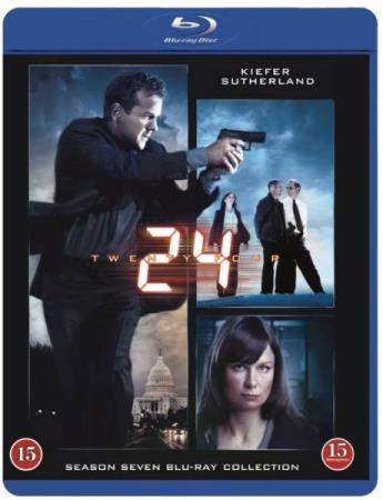 24 - SESONG 7 (KIEFER SUTHERLAND) (6 DISC) (BLU-RAY)