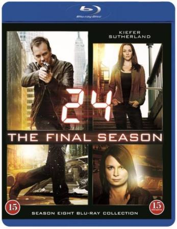 24 - SESONG 8 (KIEFER SUTHERLAND) (6 DISC) (BLU-RAY)