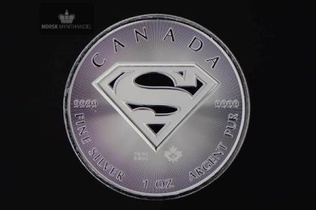 2016 Kanada 1 oz Sølv Superman