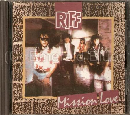 Riff - Mission Love - CD Sjelden