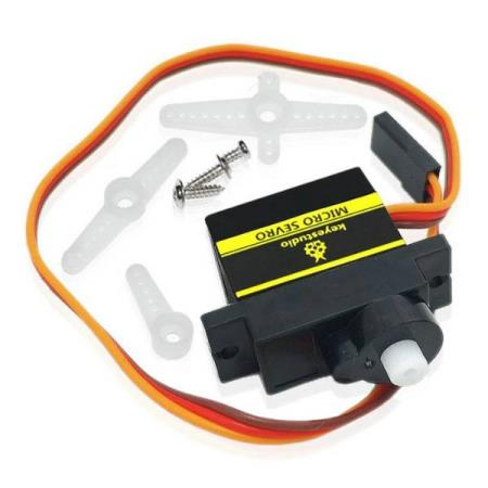 SG90S MICRO SERVO FOR ROBOT CAR – FOR ALLE TYPER MCU - Oslo - SG90S MICRO SERVO FOR ROBOT CAR PASSER SÅ OG SI ALLE TYPER MCU SOM BL.A: ARDUINO, BANANA Pi, RASPBERRY Pi, 8051, ARM, AVR, PIC KUN KR. 79.- SG90S mini servo is lightweight, high-quality and lightning-fast. The servo is designed to work with almost - Oslo