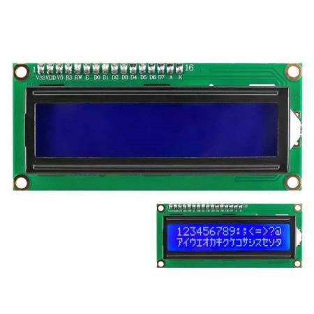 LCD DISPLAY MODULE 1602 IIC/I2C - FOR ALLE TYPER MCU - Oslo - LCD DISPLAY MODULE 1602 IIC/I2C PASSER SÅ OG SI ALLE TYPER MCU SOM BL.A: ARDUINO, BANANA Pi, RASPBERRY Pi, 8051, ARM, AVR, PIC KUN KR. 89.- The module is a high-quality 2 line 16 character LCD module with I2C interface and it is a basic character  - Oslo