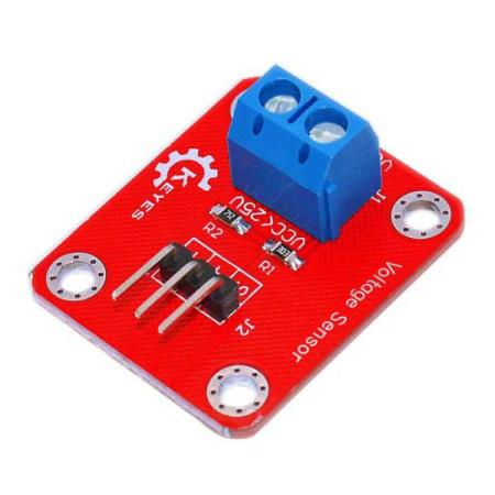 0~25V VOLTAGE DETECTION SENSOR MODULE – FOR ALLE TYPER MCU - Oslo - 0~25V VOLTAGE DETECTION SENSOR MODULE PASSER SÅ OG SI ALLE TYPER MCU SOM BL.A: ARDUINO, BANANA Pi, RASPBERRY Pi, 8051, ARM, AVR, PIC KUN KR. 59.- Due to the many types of electronic products and difference of the voltage of the power supply, there - Oslo