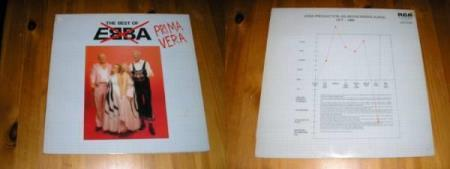 Prima Vera - The Best Of EBBA - LP - Jahn Teigen