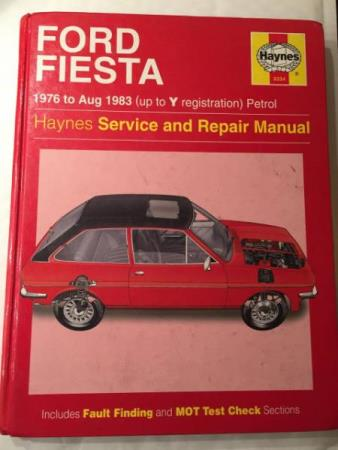 FORD Fiesta. 1976 to aug 1983 petrol. Haynes service and rep - Arnatveit - FORD Fiesta. 1976 to aug 1983 petrol. Haynes service and repair manual.  - Arnatveit