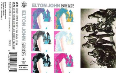 ELTON JOHN.-LEATHER JACKETS.-1986.