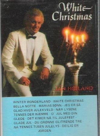 JAN HØILAND.-WHITE CHRISTMAS.-PLAST PÅ.