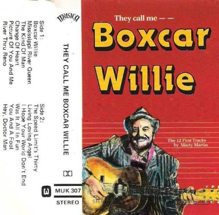 BOXCAR WILLIE.-THEY CALL ME BOXCAR WILLIE.-1980.