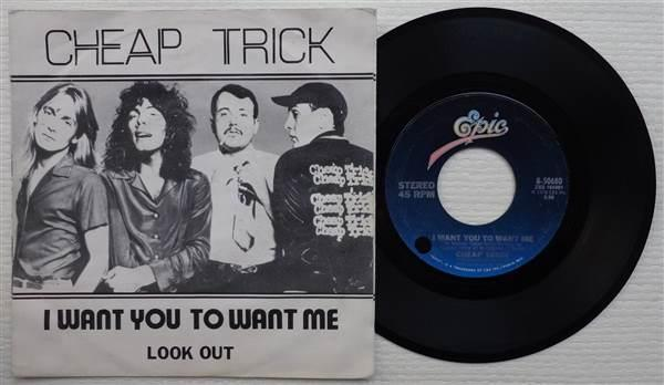 cheap trick 39 i want you to want me 39 1979 belgian 7 selges av disc empyre fra glostrup p. Black Bedroom Furniture Sets. Home Design Ideas