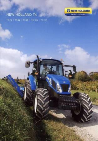 New Holland T4 brosjyre 01 / 2015 PL