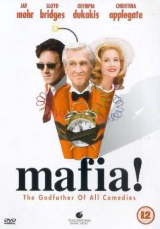 MAFIA ! (1998) (LLOYD BRIDGES) (CRAZY HUMOUR) (DVD) - Larvik - NY VARE !!! ENGELSK UTGAVE OG KUN ENGELSK TEKST ! 'Godfather' spoof from the 'Airplane' and 'Hotshots' team. Dim Mafia Don Vincenzo Cortino (Lloyd Bridges, in his last role) has ruled his underworld kingdom wisely (well, fairly wisely) for many y - Larvik